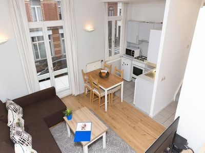 Photo for Patriotes Hungary apartment in European Quarter with lift.