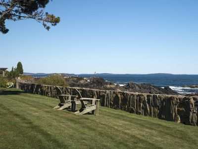 Photo for 7 Point Road in Cape Elizabeth, Maine has stunning views and all the amenities of a luxury rental in