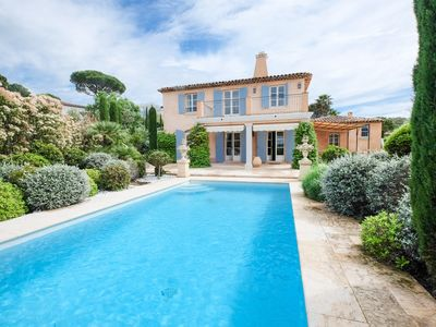 Photo for BEAUTIFUL VILLA ON THE SAINT TROPEZ COUNTRY GOLF CLUB