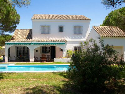 Photo for Casa Gaston lovely refurbished home, beautiful garden, pool, quiet, close to beach