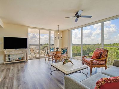 Photo for Unforgettable Sunrises Await! Beautiful 3rd Floor Bay View! No Resort Fees! Free Parking & WiFi
