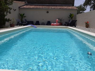Photo for Gite du Riage 10 mins from Anduze in the countryside with heated pool