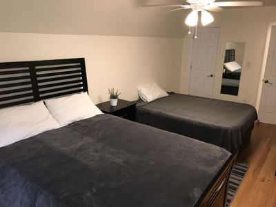 Extra large private room/bedroom with new modern furniture set and mattress