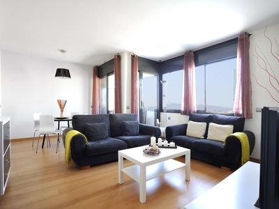 Photo for Family Apartment in the Beach with Terrace and Pool - B213