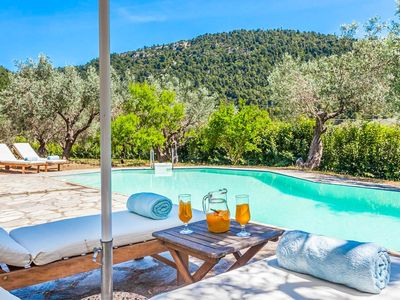 Photo for Villa Ambelonas: Large Private Pool, A/C, WiFi