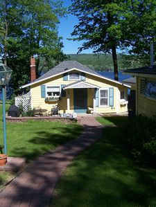 Photo for Charming, Family-friendly Cottage In Park-like, Lakefront Setting