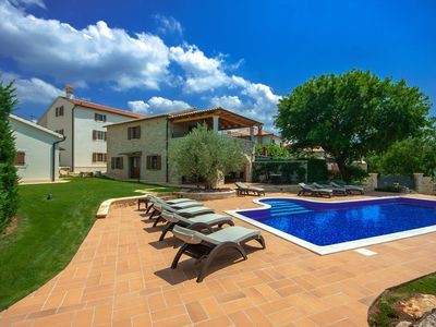 Photo for Two houses, together for 14 people, with private swimming pool and several facilities