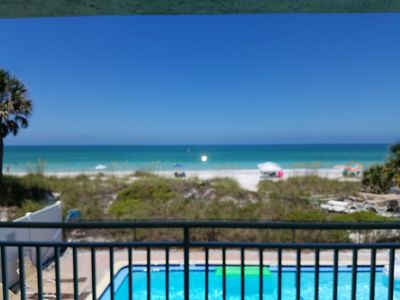 Photo for Club Bamboo South unit 123, Gulf Front Studio, ocean view, maximum occupancy of 4 people.