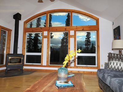 Photo for Denali 5-Star Luxury Home! Awesome Park Views, 11 miles from Denali Entrance Rd.
