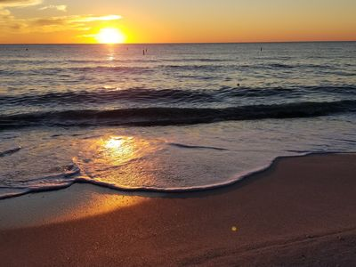 Photo for Bonita Beach is OPEN! Stroll to Sunsets at Surf's Edge! Family & Boat Friendly!
