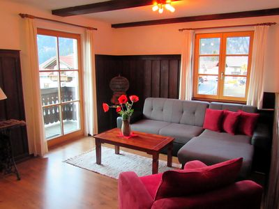 Photo for Cheap apartment for 5 people in sunny and central location in Ehrwald