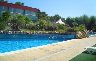 Photo for Cozy Mobile Home 200m Away from the Beach! Pool On-Site