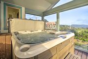 NEW! Chic Newport Home w/Hot Tub & Sauna on Beach!