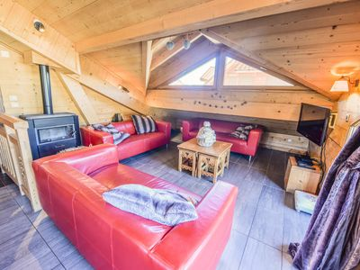 Photo for Beautiful apartment in chalet in the center - Maeva Particuliers - 5 room apartment 12 people Exclusive