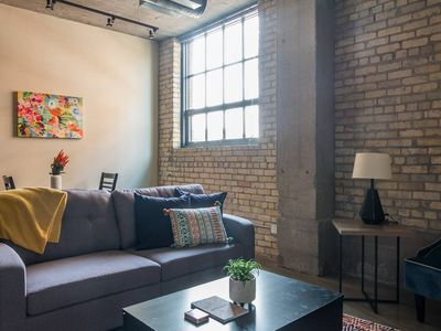 Photo for Attractive 1BR Apt in North Loop
