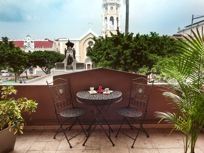 Photo for Beautiful boutique Apart-hotel-views and service(Casco Antiguo)