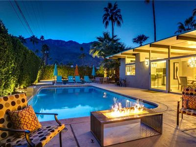 Photo for Enjoy the Palm Spring lifestyle in this vacation getaway, it's a classic mid-century oasis!