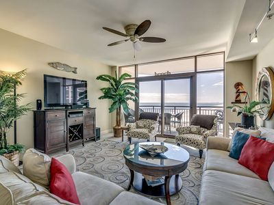 Photo for New to Rental! Charming 11th Floor Oceanfront Condo in North Beach Plantation