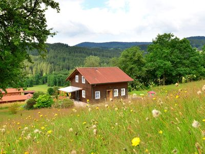 Photo for Detached holiday house in the Bavarian Forest in a very tranquil, sunny setting