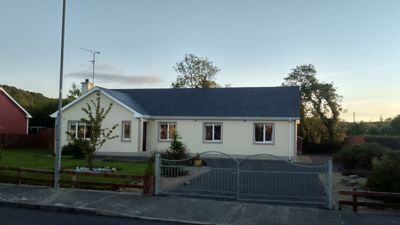 Photo for The large 4 bedroom bungalow is located in the small village of Kinlough.