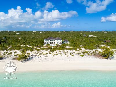 Photo for Long Bay House, a 5BR beachfront villa in Turks and Caicos