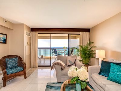 Photo for Sweeping Ocean Views, 2 bed/2 bath Upgraded Condo Newly Renovated Dec 2017