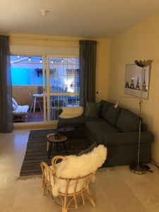 Photo for Lovely apartment for 4+2 people, right on the sea, near Marbella.