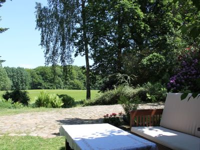 Photo for Beautiful apartment in an idyllic location close to Hamburg. Dogs welcome!