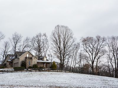 Photo for Private home surrounded by State Game Lands in little Cove