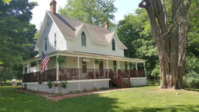 Photo for Historic 5 bedroom 2 bath farmhouse sleeps 12