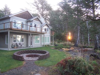 Photo for Breathtaking Beachfront Home on Two Acres of Private Forest