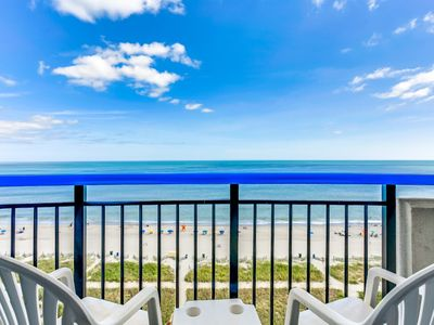 Photo for Oceanfront Paradise in the Heart of Myrtle Beach