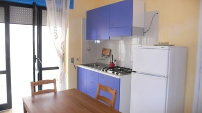 Photo for Studio Baia Verde (CTE4) 100 meters from the sea, with sea view balcony