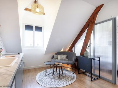Photo for Les Cygnes studio for 2 people, cosy and bright
