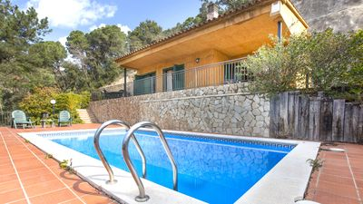 Photo for Nice villa with private pool just 1. 5Km from the beach.