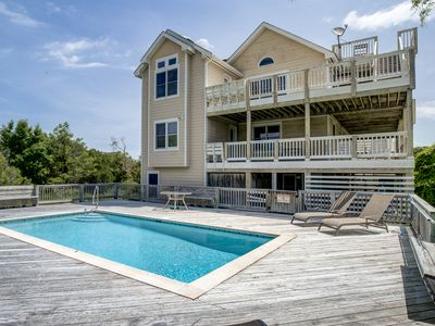 Photo for Summer Set | 925 ft from the beach | Private Pool, Hot Tub, Dog Friendly