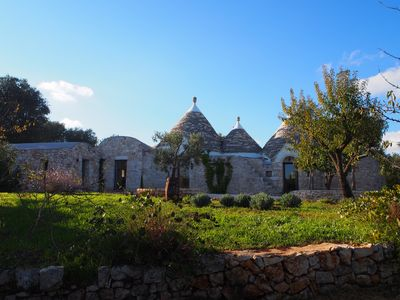 Photo for A delightful trullo with pool in a secluded location in the heart of Puglia.