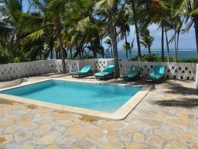 Photo for Two 2 Bedroom Beach Houses - all en-suite, right on the beach in Watamu, Kenya