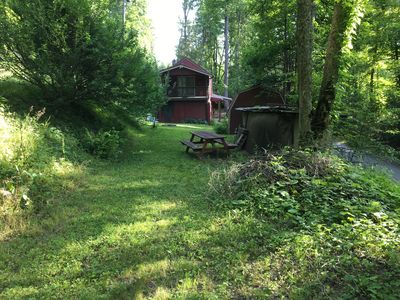 FCW is bordered by two forest roads, providing easy access