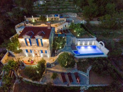 Photo for ctma154 -  Renovated stone villa with private pool in Makarska, 4 + 1 persons, perfect for nature lovers