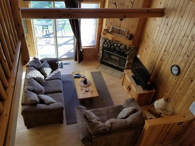 Photo for BEAUTIFUL CHALET ON THE GOLF COURSE WITH PRIVATE HOT TUB!