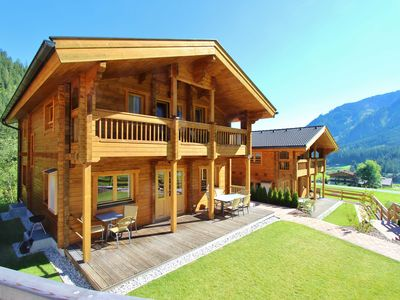 Photo for Luxurious and atmospheric wooden chalet, with a sauna, in famous Krimml