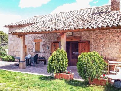 Photo for Restored rustic 18th cent. country house in Fonollosa.