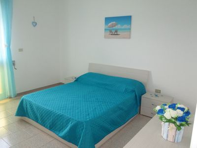Photo for Apartment 50 meters from the sea equipped with every comfort