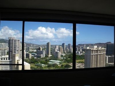Panoramic view from Living Room