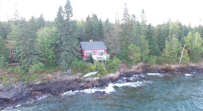 Photo for Charming Rustic Cottage On Lake Superior