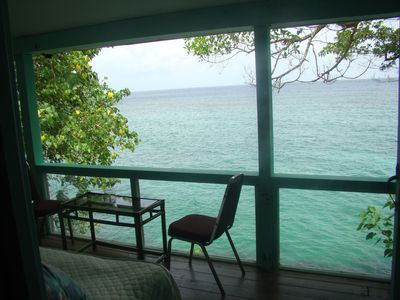 Photo for Villa Sake - Executive House, St. Mary  on Cliff overhanging the Caribbean Sea