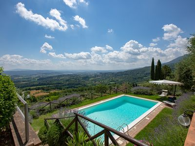 Photo for beautiful villa ada belriguardo with views of the city
