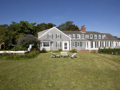 Photo for Exquisite Old Cape Charm, Spectacular Views, Private Beach, Sleeps 24
