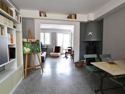 Photo for Le Pont - Bright apartment along the river